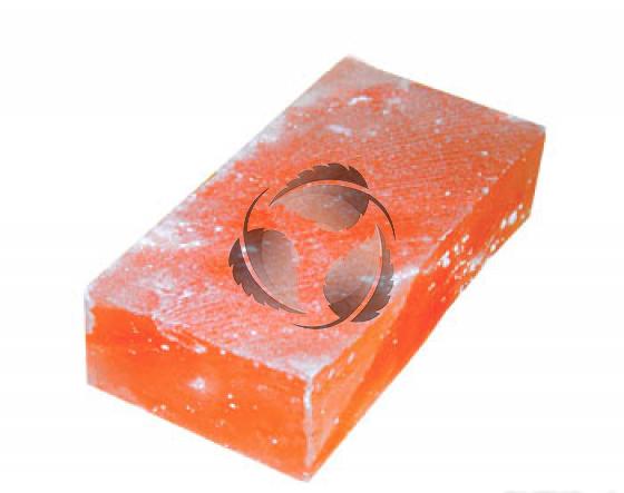 Кирпич из соли шлифованный