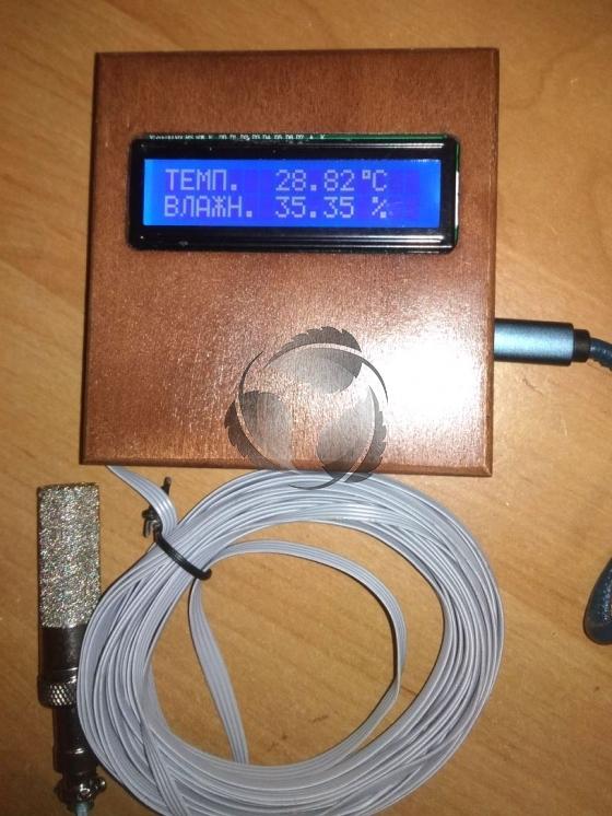 Профессиональный термометр и гигрометр в баню или сауну